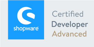 Shopware Zertifikat Developer Advanced