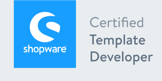 Shopware Zertifikat Template Developer