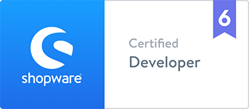 Shopware 6 Zertifikat Certified Developer