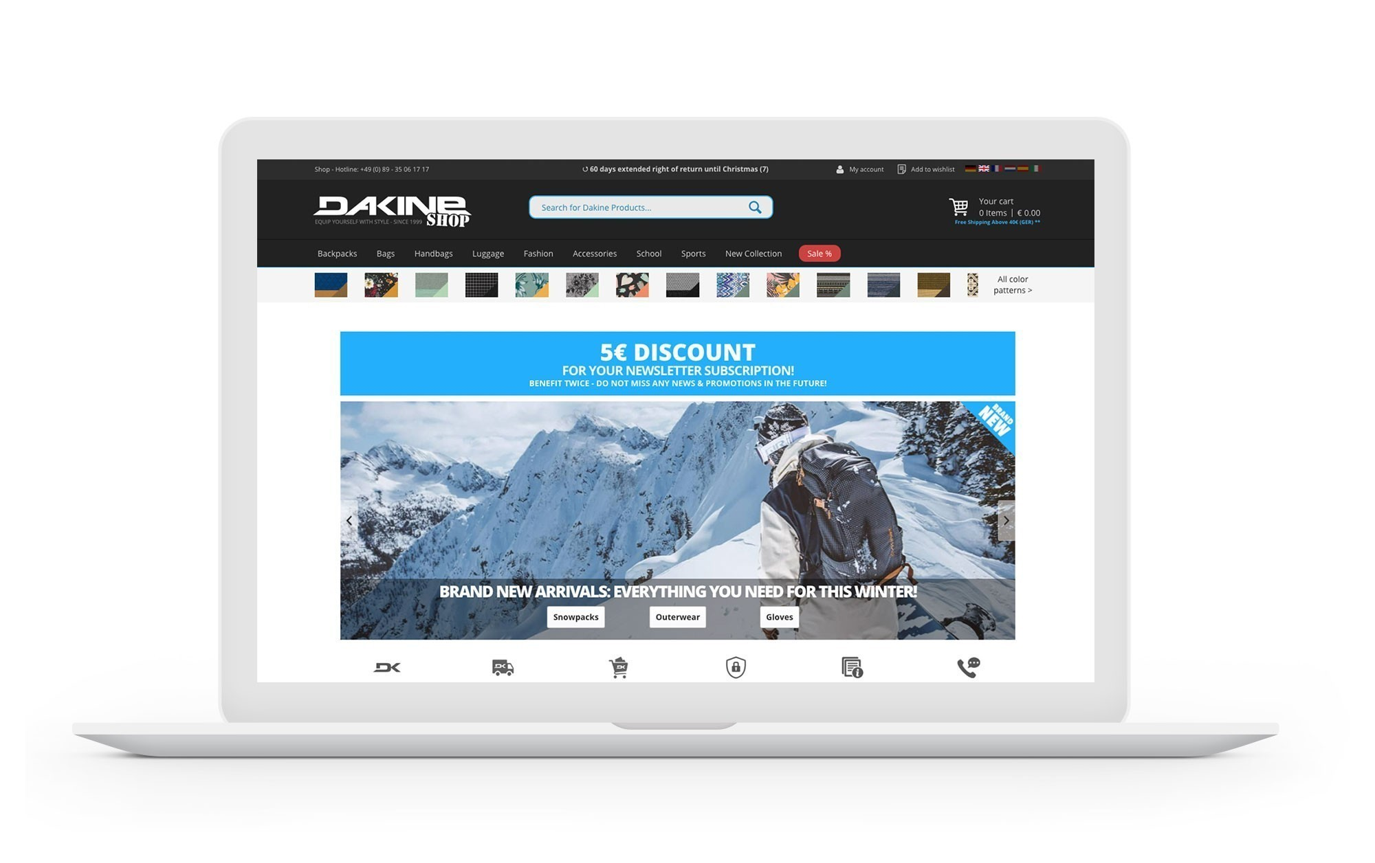 Projekt Screen Desktop Dakine