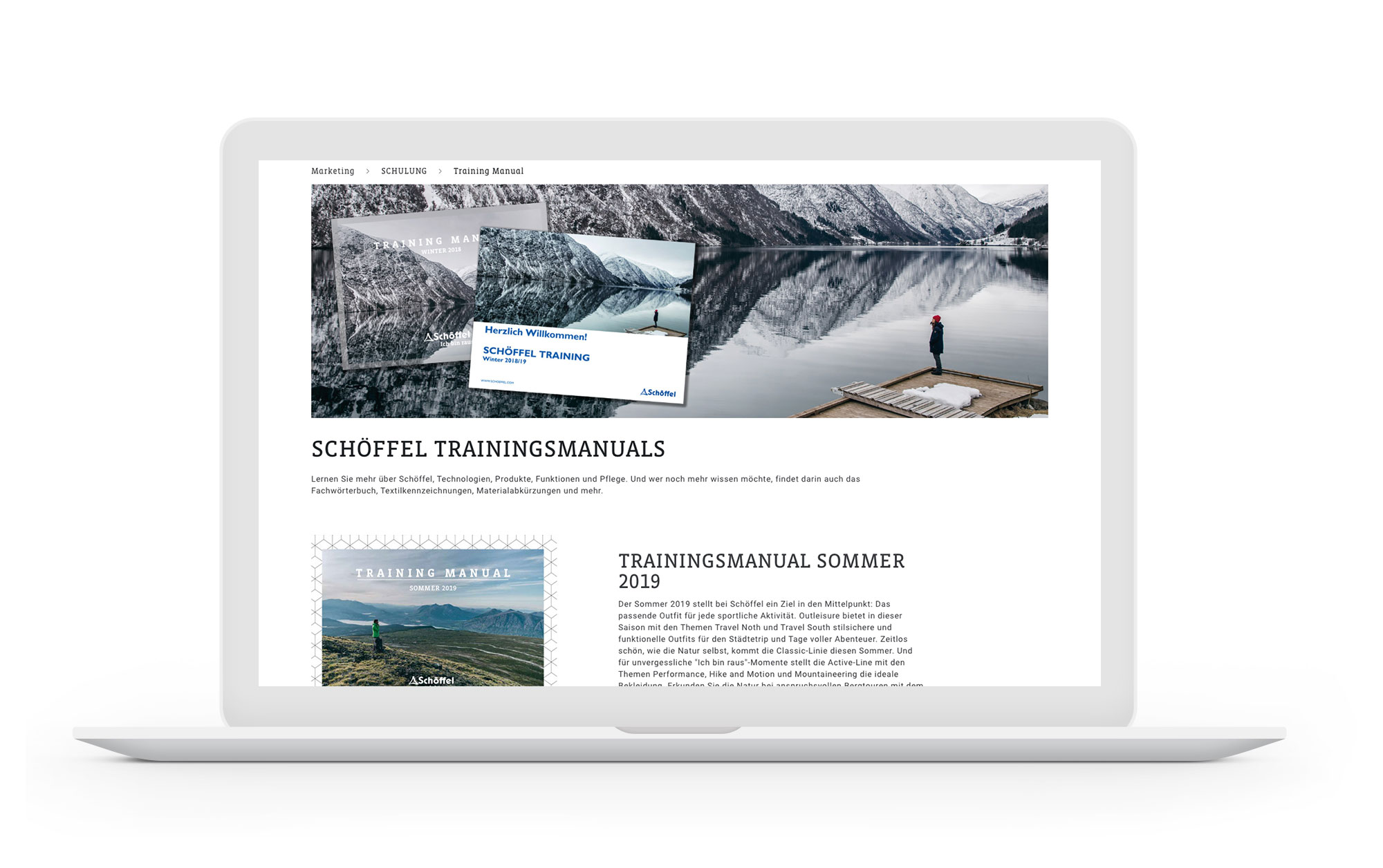Projekt Screen Desktop Schoeffel B2B