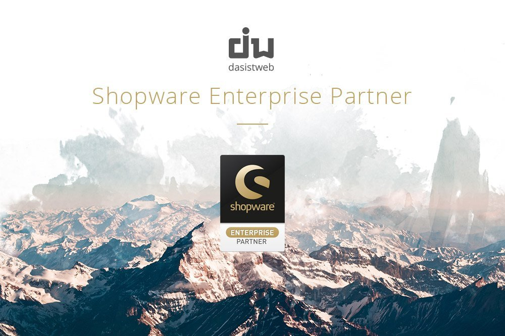 Wir sind Shopware Enterprise Partner