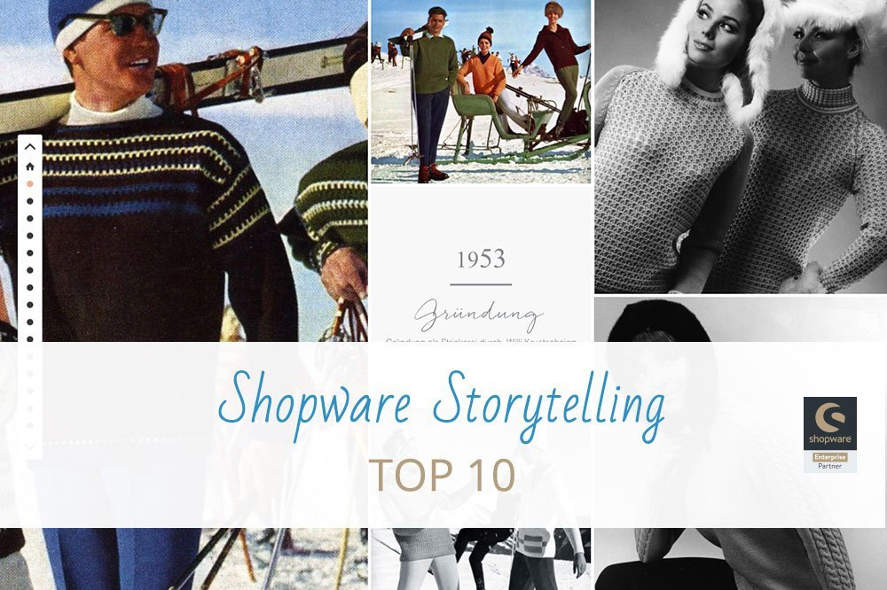 Die Top 10 Shopware Storytelling Shops