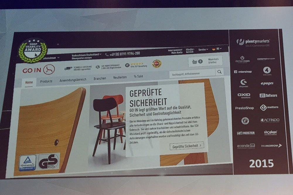 da0814142f76d6 goin.de gewinnt Shop Usability Award in der Kategorie B2B